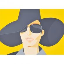 Alex KATZ (1927) - Vivien in Black Hat