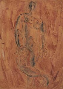 Simon HANTAÏ - Painting - Nude