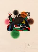 Joan MIRO - Print-Multiple - Colombine entre chien et loup