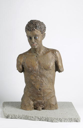 Stephan BALKENHOL - Print-Multiple - Male torso