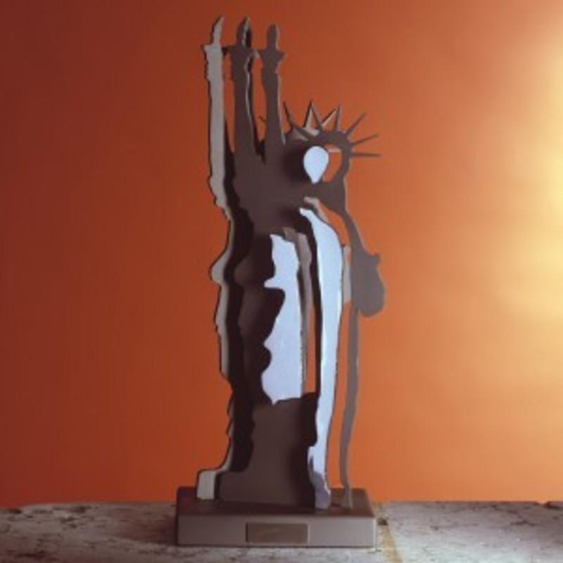 Fernandez ARMAN - Sculpture-Volume - Le fantôme de la liberté