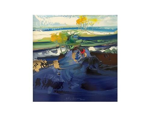 Apostolos YAYANNOS - Pittura - Landscape V