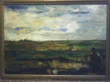 Béla Iványi GRÜNWALD - Pintura - Disznópásztor / The Shepherd