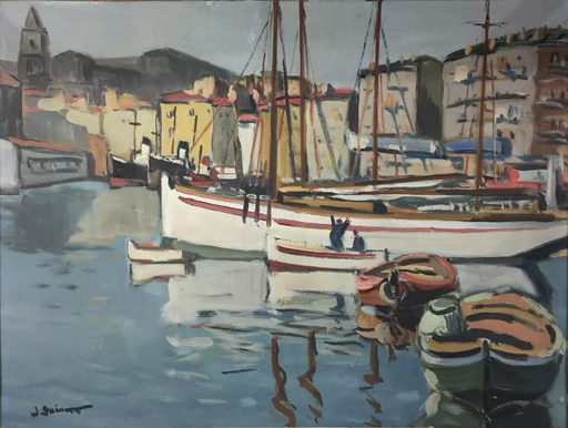 Jean GUINDON - Pintura - le port de Marseille