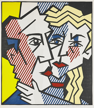 Roy LICHTENSTEIN (1923-1997) - The Couple, from Expressionist Woodcut Series