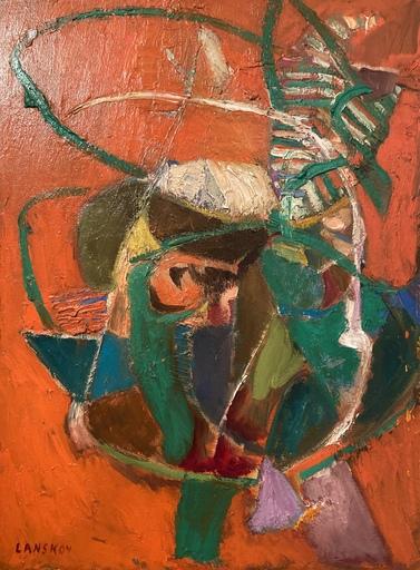 André LANSKOY - Pintura - SANS TITRE