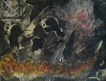 Jorge PIQUERAS - Peinture - Invasion, 1961