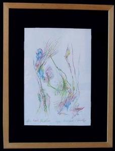 Bernard SCHULTZE - Drawing-Watercolor - Sans