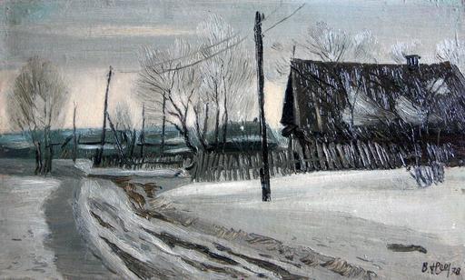 Valeriy NESTEROV - Gemälde - Nizhniy Tagil neighborhood
