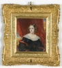 """Zeichnung Aquarell - """"Louise Marie-Therese d'Artois"""", late 1830s"""