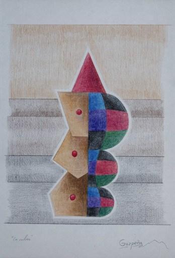 Enrique Rodriguez GUZPENA - Dibujo Acuarela - La calma