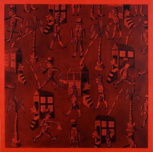 Antonio SEGUI - Painting - DUBAI EN AGOSTO
