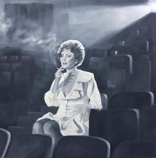 Gian Marco MONTESANO - Peinture - Fumo negli occhi