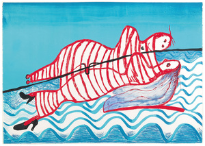Louise BOURGEOIS - Stampa-Multiplo - Hamlet and Ophelia