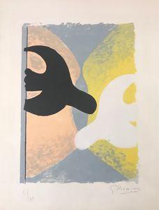 Georges BRAQUE - Print-Multiple - Résurrection de l'oiseau
