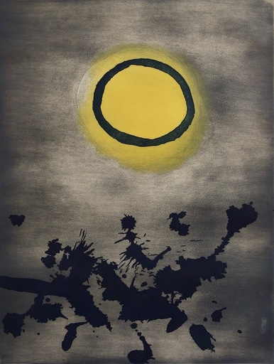 Adolph GOTTLIEB - Grabado - Untitled