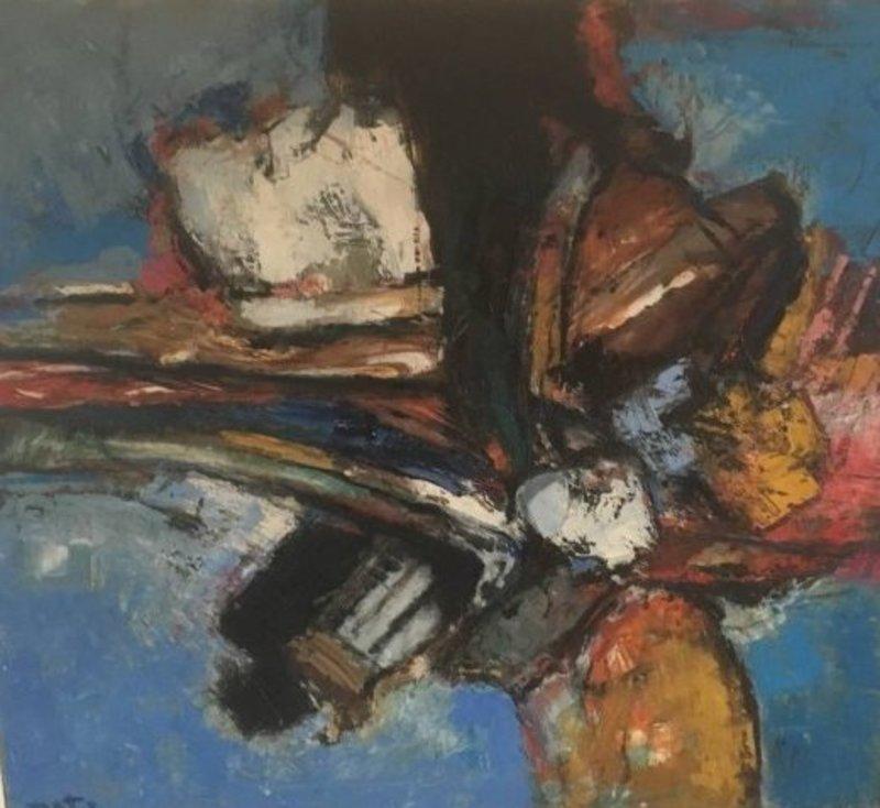 Wim MOTZ - Peinture - zeekust