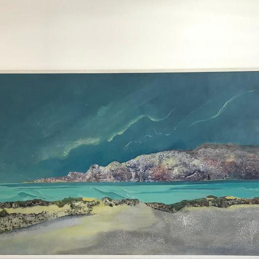 Lily MASSON - Painting - BORD DE MER A L'ILE