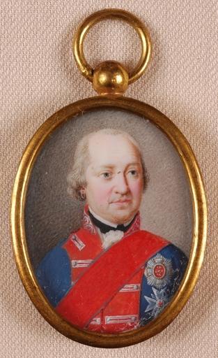 Joseph HEIGEL - Miniatur - Joseph Heigel-ATTRIB., Maximilian I Joseph King of Bavaria