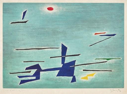 Gustave SINGIER - Grabado - Digue-espace