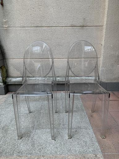 Philippe STARCK - Chaise Victoria Ghost conçue par Philippe Stark pour Kartell