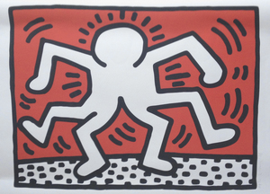 Keith HARING, Keith Haring Double Man