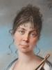 """Johann Heinrich SCHRÖDER - Miniatur - """"Princess Therese von Thurn und Taxis"""", Royal Collection"""