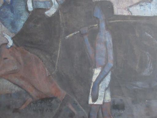 TEW NAI TONG - Painting - Le berger