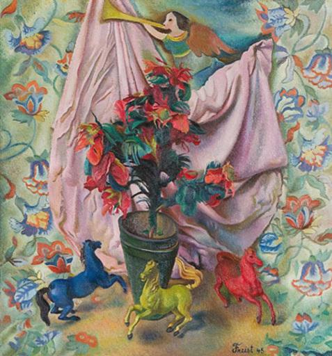 Greta FREIST - Pintura - La Libération