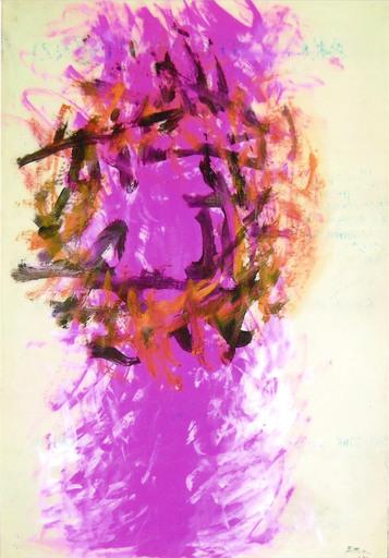 Ennio FINZI - Painting - Senza titolo