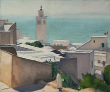 阿尔伯特·马尔凯 - 绘画 - Vue de Sidi Bou Said