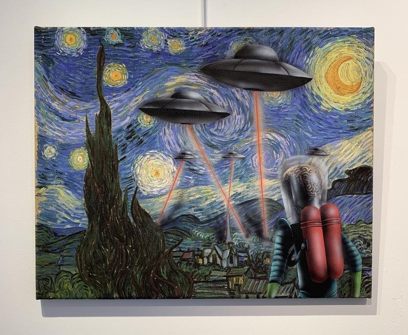 ONEMIZER - Painting - Mars Attaque