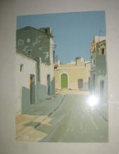 Aldo RISO - Print-Multiple - Senza titolo (Scorcio paesano)