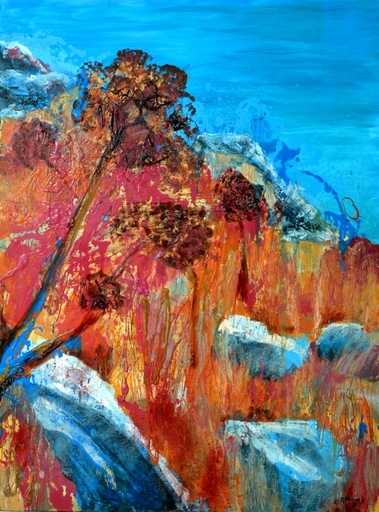 Peny MANAVI - Gemälde - Cactus 15