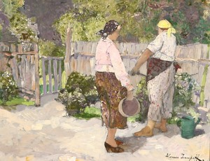 Alessio ISSUPOFF, Tending the Garden