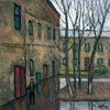Valeriy NESTEROV - Pittura - Moscow. Taganka yard