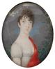 "Georg Emanuel OPIZ - Miniatur - ""Portrait of a Lady"", ca.1800, Miniature"