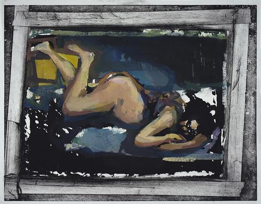 Eric BARI - Painting - Nadia