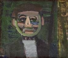 Artur NACHT-SAMBORSKI - Painting - Smiling man