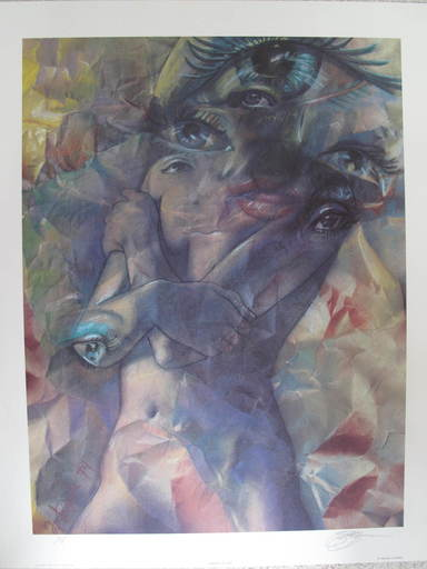 Michael R. WHIPPLE - 版画 - Master of Eyes
