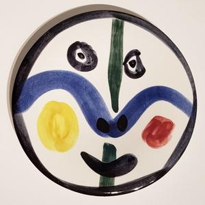 Pablo PICASSO - Keramiken - Visage No. 0