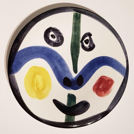 Pablo PICASSO - Ceramiche - Visage No. 0