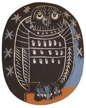 Pablo PICASSO - Ceramic - Owl