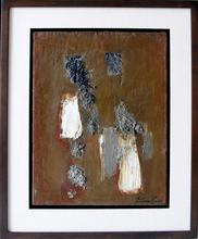 Léon ZACK - Pintura - Harmonie Gris Brun