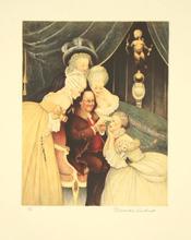 诺曼•洛克威尔 - 版画 - BEN'S BELLES