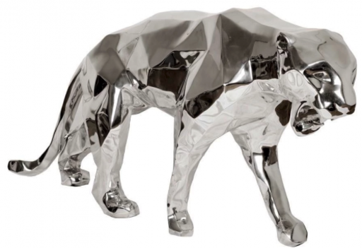 Richard ORLINSKI - Escultura - Panthere Chrome