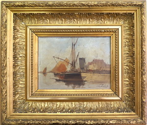 Eugène GALIEN-LALOUE - Pittura - Le port