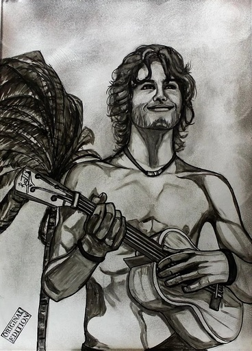 BATLI - Painting - UKULELE