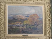 Fernand MAILLAUD - Painting - COIN D AUTOMNE PRES DE TOULON