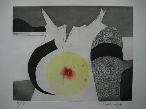 Joan GARDY ARTIGAS - Grabado - GRAVURE SIGNÉE AU CRAYON NUM/75 HANDSIGNED NUM/75 ETCHING